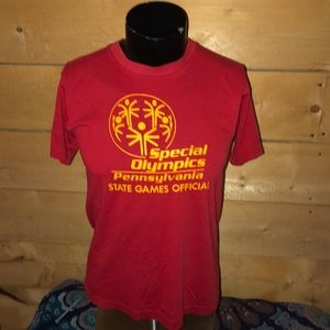 Vintage 1980s Special Olympics T-shirt. Size L